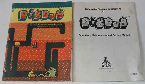 Video Game Manuals / Schematics : JT Amusements, New & Used