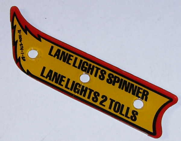 Williams Whirlwind Left Lane Guide - Used [31-1006-574-1-SP